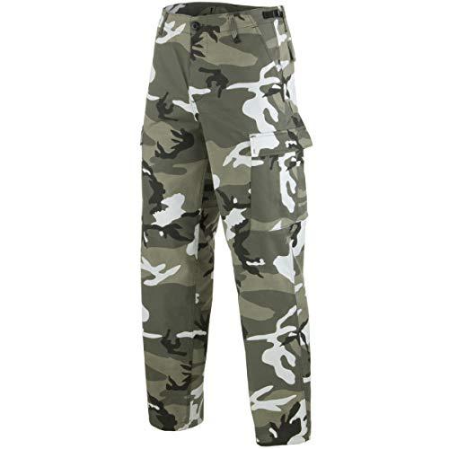 Mil-Tec BDU Ranger Combate Pantalones Urban tamaño S