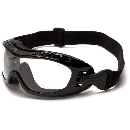 Bobster Night Hawk OTG Lunettes anti-buée Verres transparents Monture noire