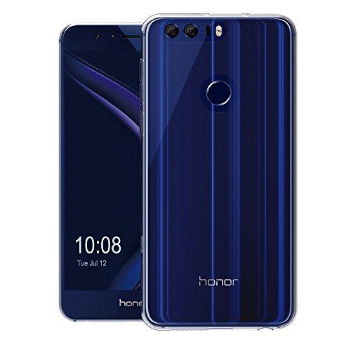 AICEK Huawei Honor 8 Hülle, Transparent Silikon Schutzhülle für Honor 8 Case Crystal Clear Durchsichtige TPU Bumper Huawei Honor 8 Handyhülle - 3