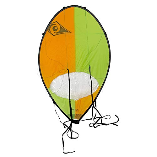 BIC SPORT Voile Pro pour kayak - Orange et vert fluo