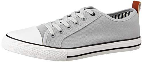 Amazon Brand - Symbol Men's L.Grey Sneakers- 9 UK (AZ-SH-03)