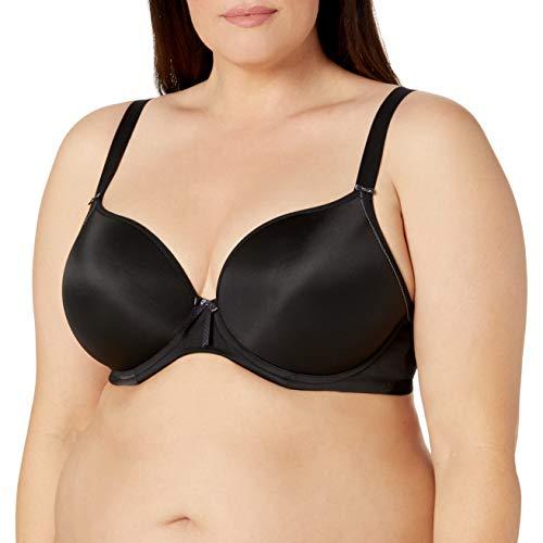 Elomi Women's Plus Size Bijou Underwire Banded Molded Bra, Black,40 H,UK