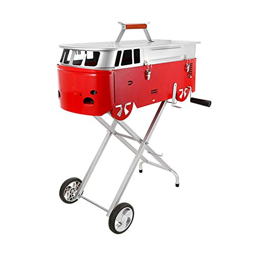 AAGYJ Freestanding Barbecues, Portable Charcoal Barbecues Grills, Grilled...