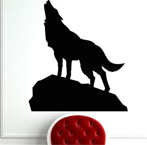 wandaufkleber 3d Wandtattoo Schlafzimmer Wild Forest Wolf Howl Sticker Home Art Decal Bedroom Decor Mural for living room bedroom