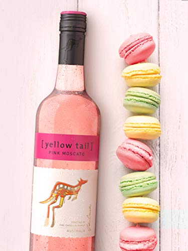 Yellow Tail Pink Moscato - Süßer Roséwein aus Australien mit 7,5% vol. Alkohol (1 x 0,75l) - 2