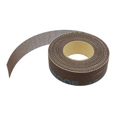 DCT 180 Grit Mesh Abrasive Paper Roll Mesh Sand Paper Sanding Mesh for Wood Turning Sanding Kit - 1 Inch x 20 Foot Roll