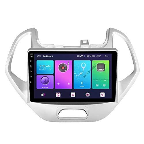 Sistema de navegación GPS, adecuado para el automóvil FORD FIGO19-20, navegación con pantalla táctil estéreo HD, radio de automóvil, navegación automática de aire acondicionado Bluetooth, jugador,S1