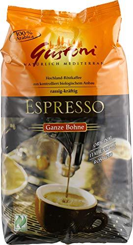Gustoni Bio Espresso, ganze Bohne (1 x 1 kg)