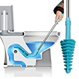 Muro Toilet Plunger RV Auger - Toilet Clog Unclogger, Toilet Snake Bathroom Toilet