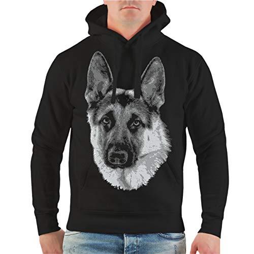 Spaß kostet Männer und Herren Kapuzenpullover Deutscher Schäferhund Größe S - 8XL Hunde Rasse