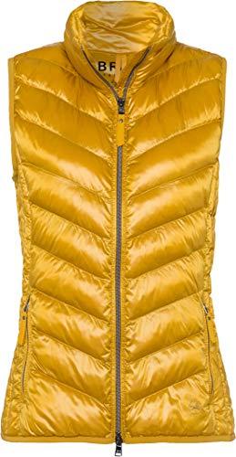 BRAX Genf Outdoor Zero Down Weste Pull sans Manche, Jaune (Honey 64), 38 (Taille Fabricant: 36) Femme