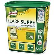 KnorrKlareSuppeBouillonreinpflanzlich,1er Pack (1 x 1 kg)