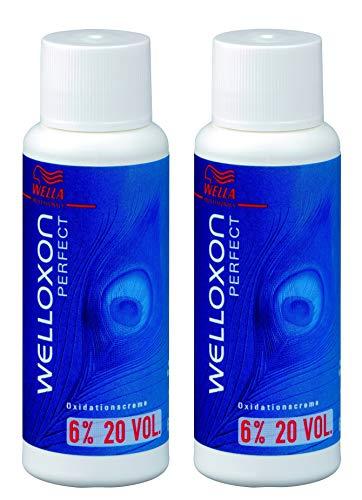 2 peróxido de hidrógeno Welloxon Perfect 6% H2O2 Wella Professionals 60 ml