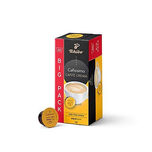 Tchibo Cafissimo Vorratsbox Caffè Crema mild Kaffeekapseln, 30 Stück, nachhaltig & fair gehandelt