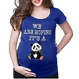Camiseta de Las Mujeres Embarazadas Fotografia SHOBDW Blusa