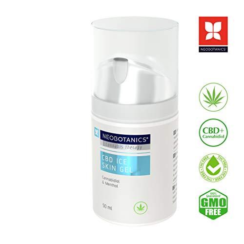 NEOBOTANICS® CBD Ice Skin - Gel refrescante para el dolor del cannabi