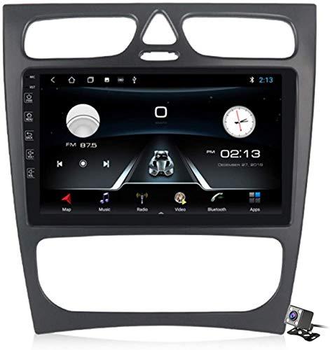 Android 9.1 GPS Browser auto per Benz CLK W209 W203 W463 W208 - FM RDS DAB + Autoradio Autoradio, connessione internet WiFi/BT, DVR USB/chiamate a mano