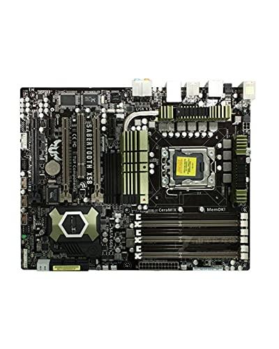 SIJI Carte mère d'ordinateur adaptée à la Carte mère d'origine ASUS Sabertooth X58 LGA 1366 DDR3, adaptée à la Carte mère de Bureau Core I7 Extreme/Core I7 24 Go