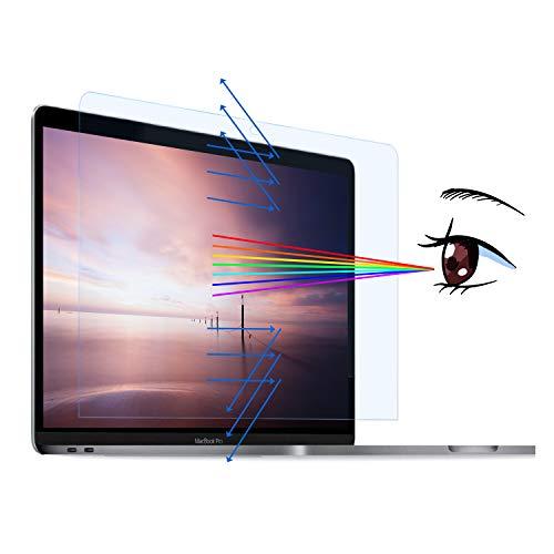MasiBloom Bildschirmschutzfolie für MacBook Pro 13 Zoll (33 cm) mit Touch Bar & Touch ID, Modell: A2338 / A2251 / A2289 (2020) 4H Festigkeit, kratzfest, schützt die Augen