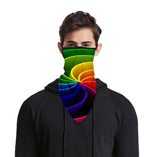 bester Test von laufmaske WERVOT Unisex Fahrradmaske Sonnenschutzmaske Mausschild Laufbandana Laufmaske Gesichtsschutz…