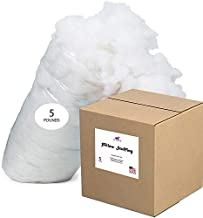 Le'vista Polyester Fiber Fill, 5 Lbs, Pillow Stuffing, Stuffing for Stuffed Animals, Stuffing for Couch. Made in The USA