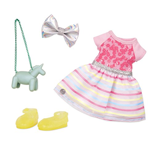 Glitter Girls by Battat  Shiny Flowers In Bloom Outfit 14quot Doll Clothes– Toys Clothes amp Accessories For Girls 3YearOld amp Up