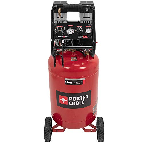 PORTER-CABLE PXCMSAC420VW 20 Gal. Quiet 4.0SCFM 150PSI Vert Compressor