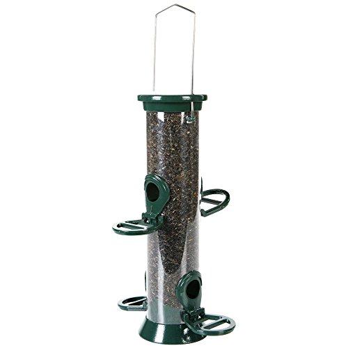 CJ Wildbird - Mangiatoria per uccelli in metallo, colore: Verde
