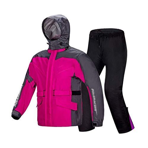 YDS Shop Alpinisme Set voor buiten, uniseks, zware jas met waterafstotende capuchon en lichte mantel, geschikt voor elektrische fietsen, Golf