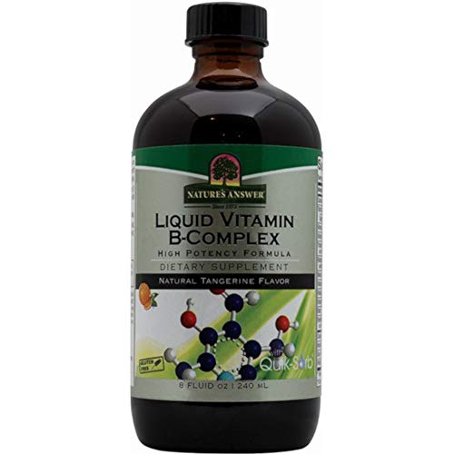 Nature's Answer Liquid Vitamin B-Complex, 8 Ounces each (Value Pack of 5)