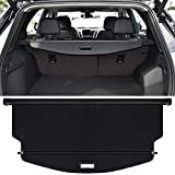Trunk Cargo Cover For Chevy Chevrolet Equinox GMC Terrain 2018 2019 2020 2021 Retractable Rear Trunk Cargo Luggage Security Shade Cover Shield Waterproof Custom Fit All Weather (Black)