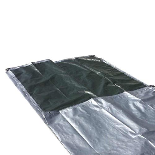 Leichte Planen-wasserdichte Hochleistungsplanen-Blattabdeckung mit Ösen für Gartenmöbel Stall-Trampolin-hölzernes Auto-Camping oder Gartenarbeit-Swimmingpool bedeckt mit...