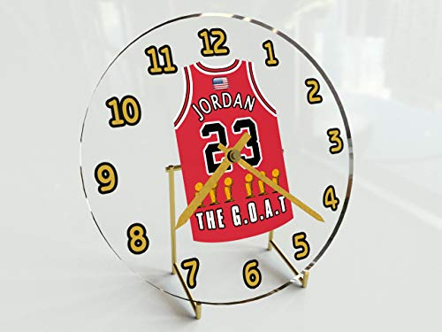 MyShirt123 Michael Jordan 23? Chicago Bulls NBA Basketball Jersey Orologio Sporting Legends Edizione Limitata