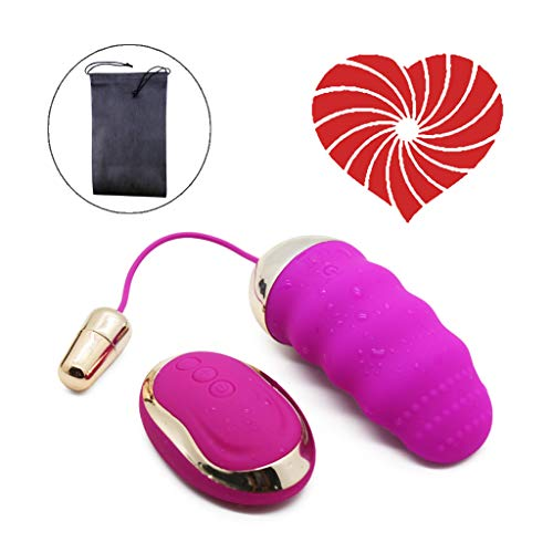 Pulsatile Wireless Remote Control Rechargeable Waterproof Massager, Handheld Cordless Electric Massager with Dual Motor and 10 Powerful Multi Frequences