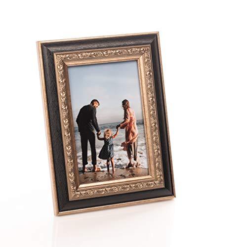 Victoria collectie barokke stijl klassieke fotolijst - perfecte grootte voor A4 / 6x4 / 8x6 foto's | Gebruik muur gemonteerd of gratis staan   om perfect passen uw huis | Fotoframe voor gekoesterde herinneringen