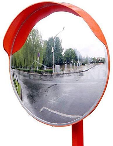 zyy Konvexen Spiegel Außen Acryl Verkehrsspiegel Rund Sicherheit Verkehr Auffahrt Konkav Spiegel Straße Garage Panorama Spiegel (Size : 45cm)