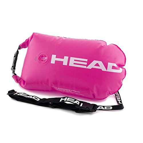 Head Swimming Safety Buoy - Schwimmboje (pink)