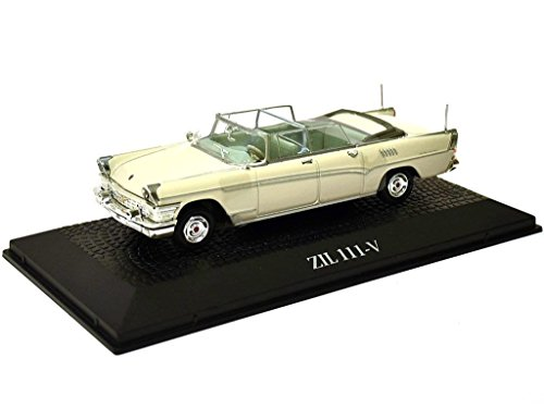 Atlas Staatskarosse Russland 1966 ZIL 111 V Leonid Breschnew UDSSR Metall Miniaturmodelle Modellauto 1:43 Norev for
