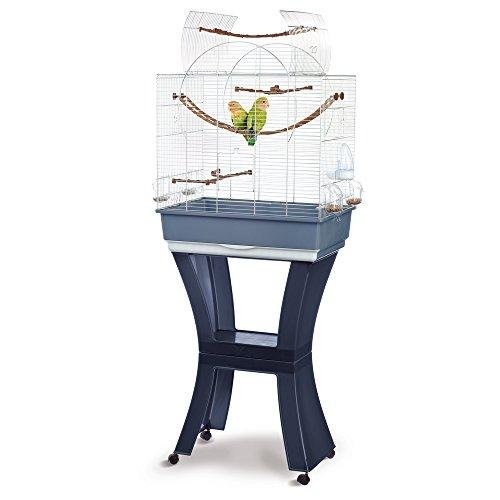 Imac Gabbia Per Uccelli Matilde Con Carrello - Supporto e Ruote