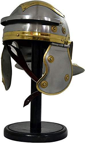 ANTIQUE NAUTICALS Casco de la armadura medieval romano Centurion Trooper Réplica LARP Sombreros