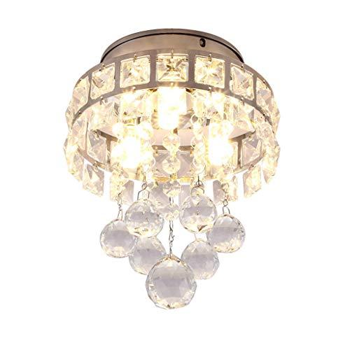 Led-plafondlamp op zonne-energie, van glas, voor balkon, garderobe, veranda, plafond, kleine plafond, ter bescherming van de ogen