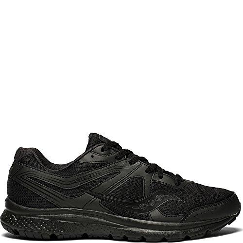 Saucony Men's Grid Cohesion Running Shoe, Black, 11 Medium US