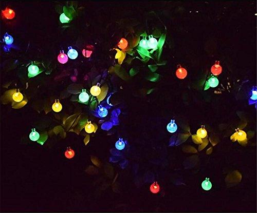 Xingyue Mythology Luces De Cadena Led Luces Solares Luces De Flash Luces De Cadena Estrellas Del Cielo Bola Impermeable Al Aire Libre Al Aire Libre Personalizada , color