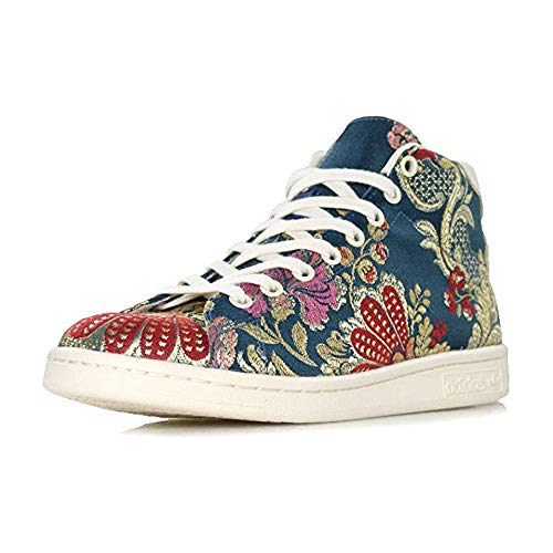 adidas Originals Stan Smith Mid Jacquard X Pharrell Williams Collaboration Sneakers (Fraction_44_and_2_Thirds)