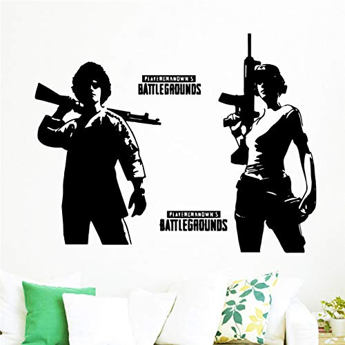 Pubg'Winner Winner Chicken Dinner' Adhesivo de pared Vinyl Decal Game Art Home Decor Decals 58 X 75 Cm