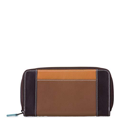 portafoglio donna in pelle - Mywalit - 8 C/C zip around wallet - 329-128 - mocha