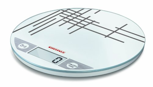Soehnle Limited Edition Flip Digital Kitchen Scale, Mikado