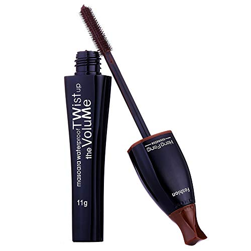 Mascara, YCQUE Waterproof Sweatproof Quick Drying Lasting Nutrient Eye Mascara Stretch Thick Curly Not Blooming Sexy Colorful Cosplay Makeup Tool Mild and Not Irritating Extend Eyelash