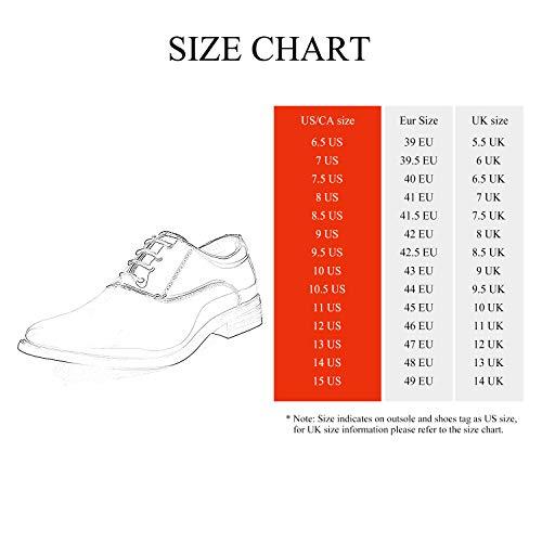 Bruno Marc Men's Faux Patent Leather Tuxedo Dress Shoes Classic Lace-up Formal Oxford Black 10.5 M US CEREMONY-05