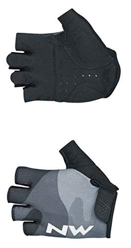 Northwave Flag 3 Fahrrad Handschuhe kurz schwarz 2019: Größe: L (9)